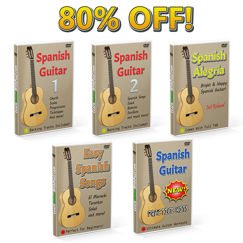 Claim Your Ultimate Spanish Guitar Course Plus 4 Extra Training ...